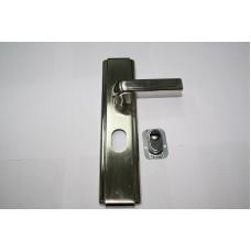Ручка для китайского замка HL-5513 белый никель RK2(114532)