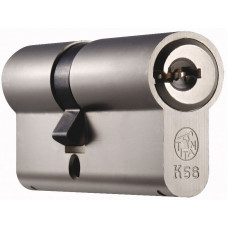 Цилиндр TITAN K56 кл/ключ. 82 (31*51)  Vario никель (100632)