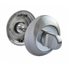 Завертка Rucetti RAP WC SN/CP  бел.никель/пол.хром (100724)