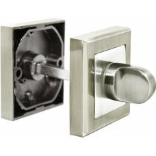 Завертка Rucetti RAP WC-S SN/CP бел.никель/пол.хром (100725)