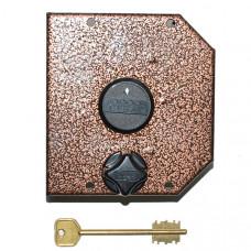 Замок накладной Сенат ЗНС3М-3-4, на металлическую дверь (214004)