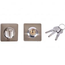 Завертка кв. с ключом RENZ, бронза BK-K 02 AB (112075)