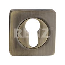 Накладка KB ЕТ 02  AB RENZ квадр. Бронза Античная (112614)