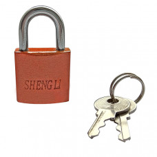 Замок навесной Shengli SH-325 оранжевый (115042)