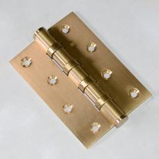 Навесы дверные унив. 100*70*3 4ВВ золото мат. (114546)