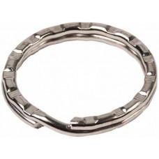 Колечки для ключей рифленое (141052)