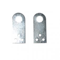 Проушина дверная малая (167001)