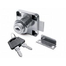 Замок мебельный 138 мк мас.система металл.ключ (121038)