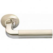 Ручка дверная Morelli МН-11 SN/CP (114886)