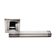Ручка дверная Morelli DIY МН-35 SN/BN-S (100544)