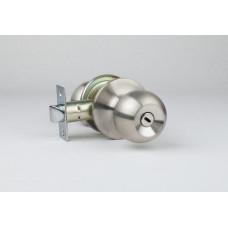 Ручка дверная TRODOS ЗШ-01,03,06  матовый никель (шарообразная)(141858)