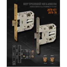 Защелка дверная WC 2070-47 GP (золото) Нора-М (114058)