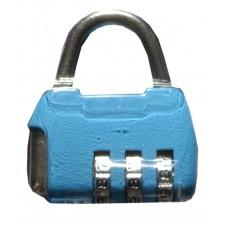 Замок навесной TRODOS голубой CL506 кодовый(214606)