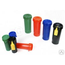 Пенал для ключей черный пластиковый  40*110 мм(141642)