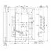 Замок врезной Гардиан комбинированный 25.12 Т с планкой (214539)